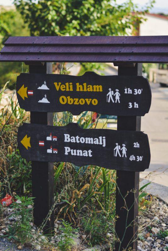 Mountain trails in Stara Baška