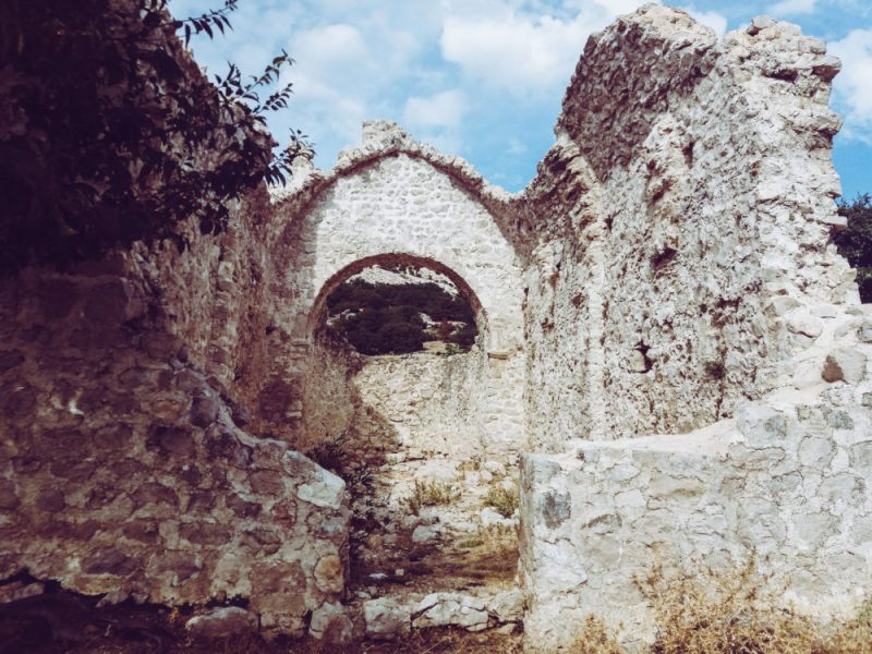 The ruins of St. Jerome's church