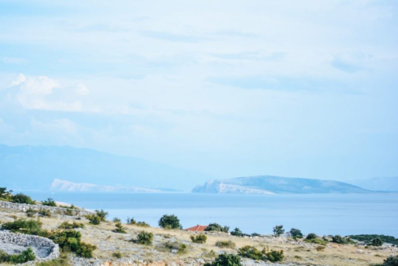 A view at the Goli, Grgur, Rab and the Croatian continent