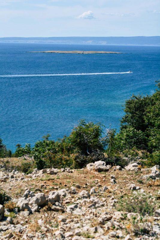 The views in Croatia