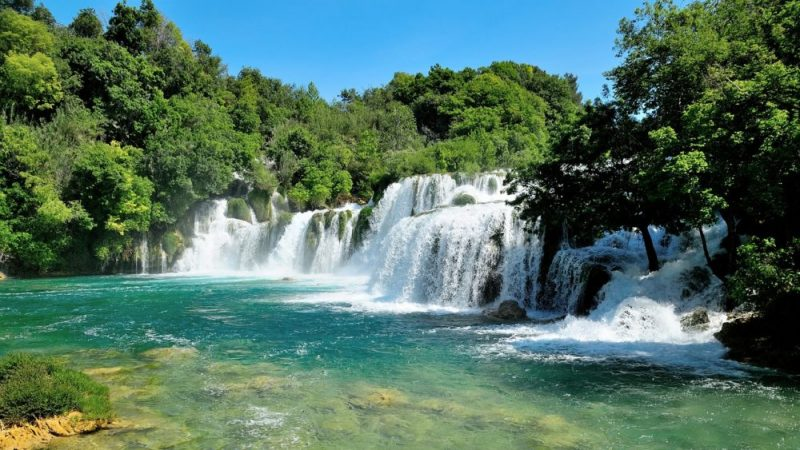 National Park KRKa Waterfalls / How to get there by car? Check the map!