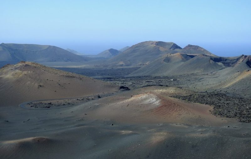 Timanfaya National Park on Lanzarote is one of the island's main tourist attractions.