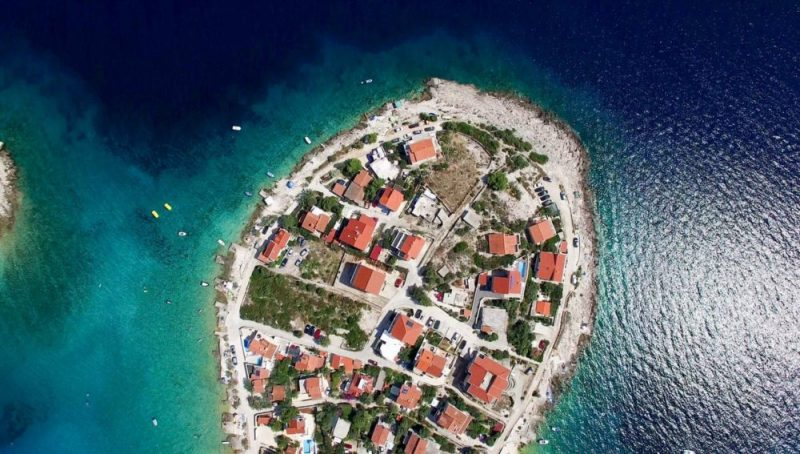 The temperature in Croatia in May, June, July, August and September is always high and satisfactory.