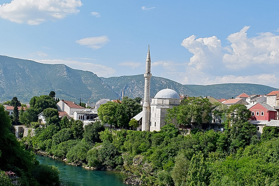 Koskin-Mehmed Pasha's Mosque in Mostar