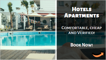 Cheap hotels, motels and apartments