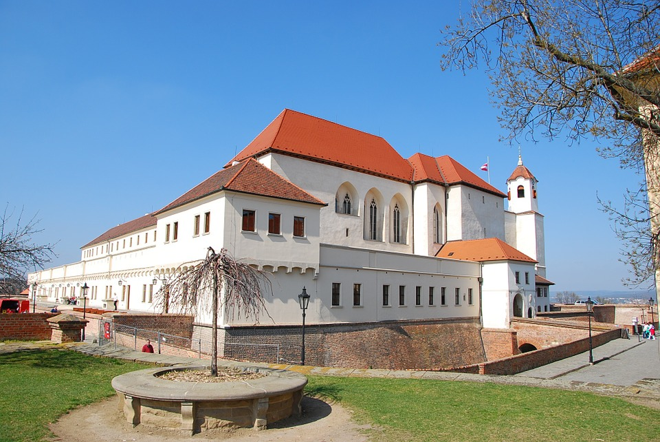 Spilberk fortress and castle in Brno / Sights, interesting places and attractions in Brno.