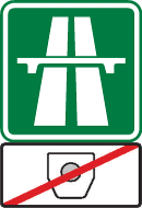 Free highway in the Czech Republic