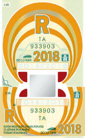 Annual vignette in the Czech Republic