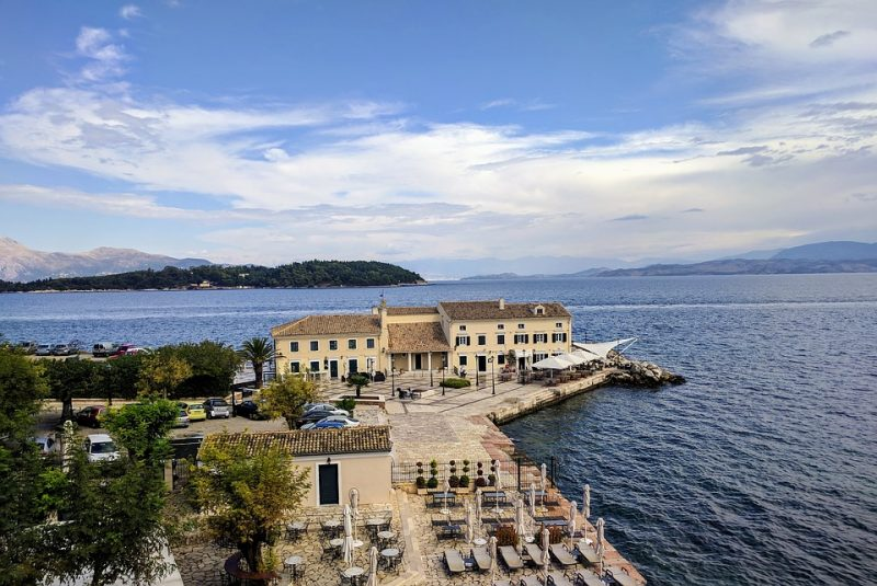 Optional trip to Corfu