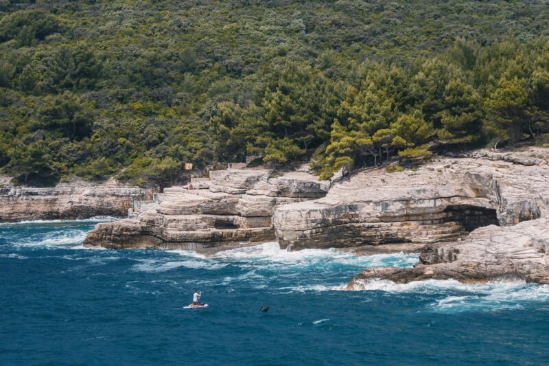 Pula sandy beaches and beaches for families with children / The most beautiful beaches in Pula