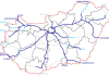 Hungary motorways / Source: Wikipedia