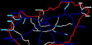 Hungary motorways / Source: Wikipedia