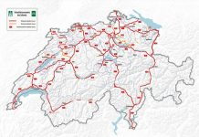 Highways in Switzerland and vignettes / Highways and tolls.