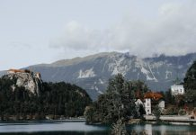 Prices in Slovenia / Dinner in a restaurant for the family, accommodation, drink and food in shops