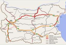 Highways in Bulgaria / Source: Wikipedia