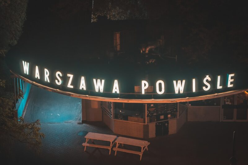 Interesting places in Warsaw