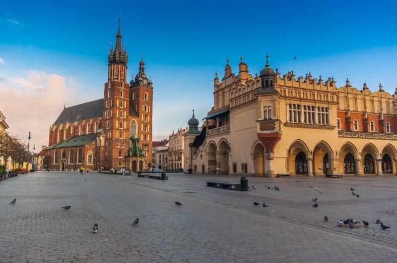 Old Market Square in Krakow