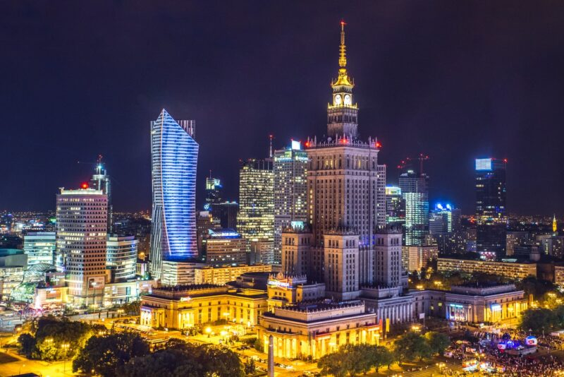 Monuments of Warsaw